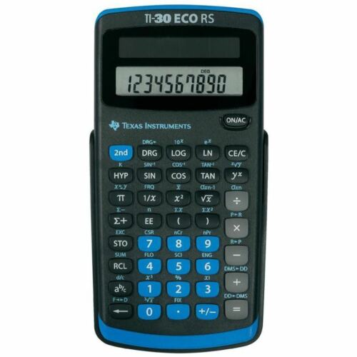 Texas Instruments TI30ECORS Battery Powered Scientific Calculator