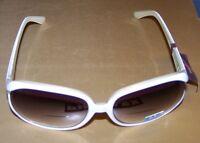 Liz Claiborne Villager Bifocal Sun Readers - White/gray - Msrp $35 - +1.5