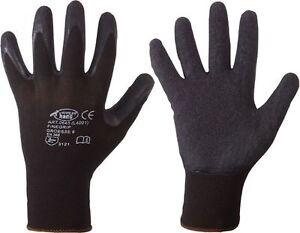1-Paar-Montagehandschuhe-Arbeitshandschuhe-Stronghand-FEINGRIP-Handschuhe-8-10