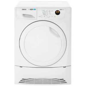 Zanussi ZDH8333PZ Lindo1000 A+ Heat Pump Tumble Dryer Condenser 8 Kg White
