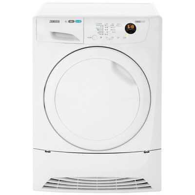 Zanussi ZDH8333PZ Lindo1000 A+ Heat Pump Tumble Dryer Condenser 8 Kg White