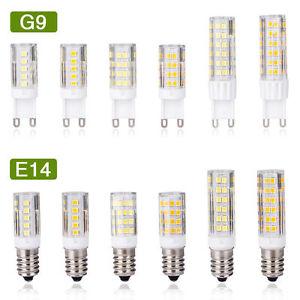 G9-E14-3W-5W-7W-LED-Ampoule-Mais-Lampe-Capsule-blanc-chaud-Remplacer-halogene
