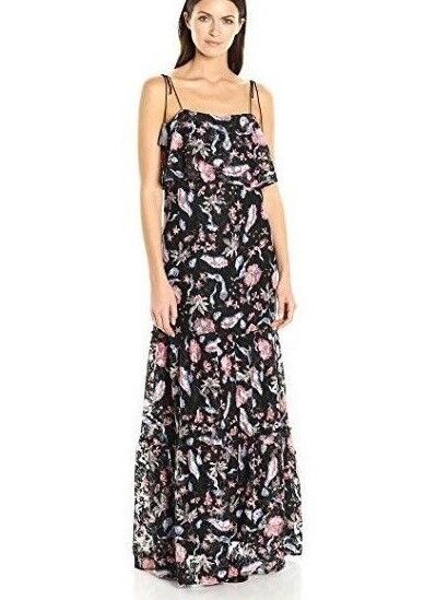 ecd5e60bd14 GUESS Women's Sleeveless Indie Indie Indie Lace Maxi Dress Size XS, S 24171b