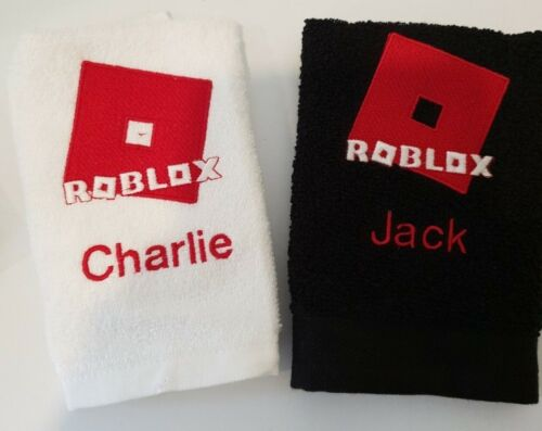 Personnalisé ROBLOX Themed Visage Flanelle