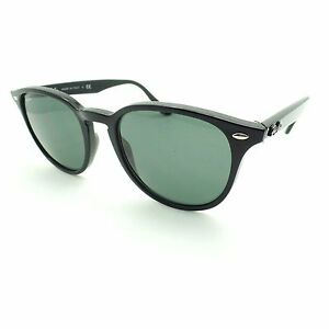 24749aa30ae Ray Ban 4259 601 71 Black Green Sunglasses New Authentic rl ...