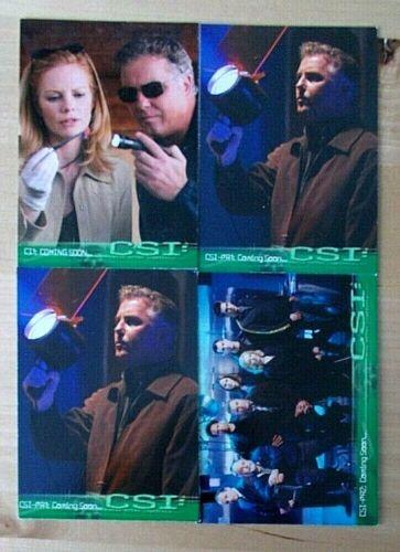 CSI-PR2 CI1 x2 4 CSI Series 1 One promo promotional trading cards CSI-PR1