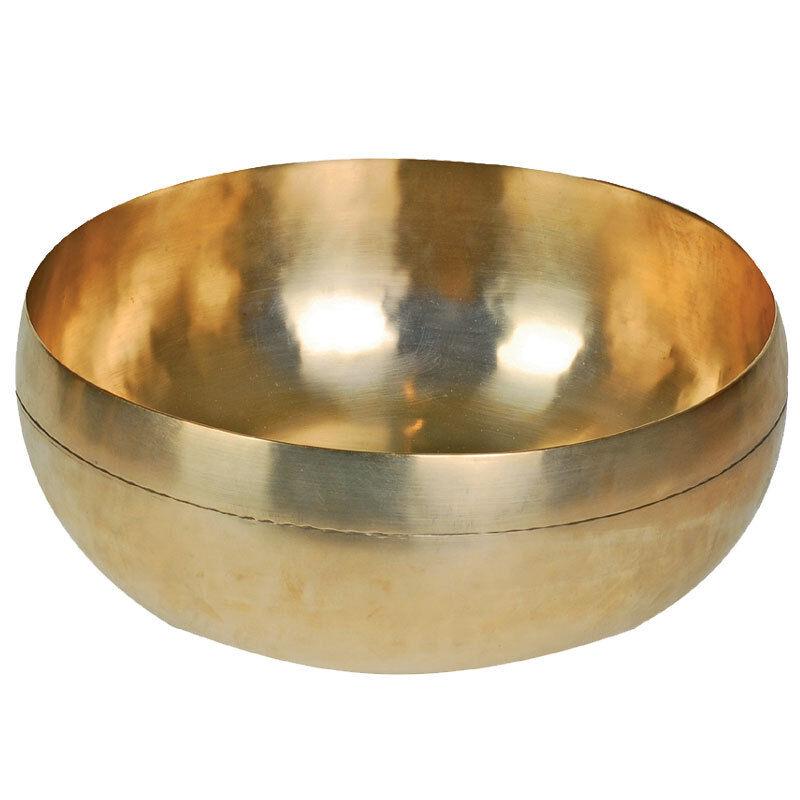 Peter Hess Sangha Meditationsklangschale Gold Klangschale 29cm 2500g phKS9M-25