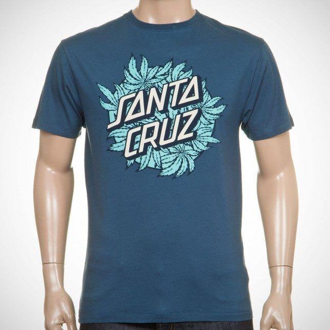 Santa Cruz July 4th Classic Dot FRONT HIT Shirt BLK MED