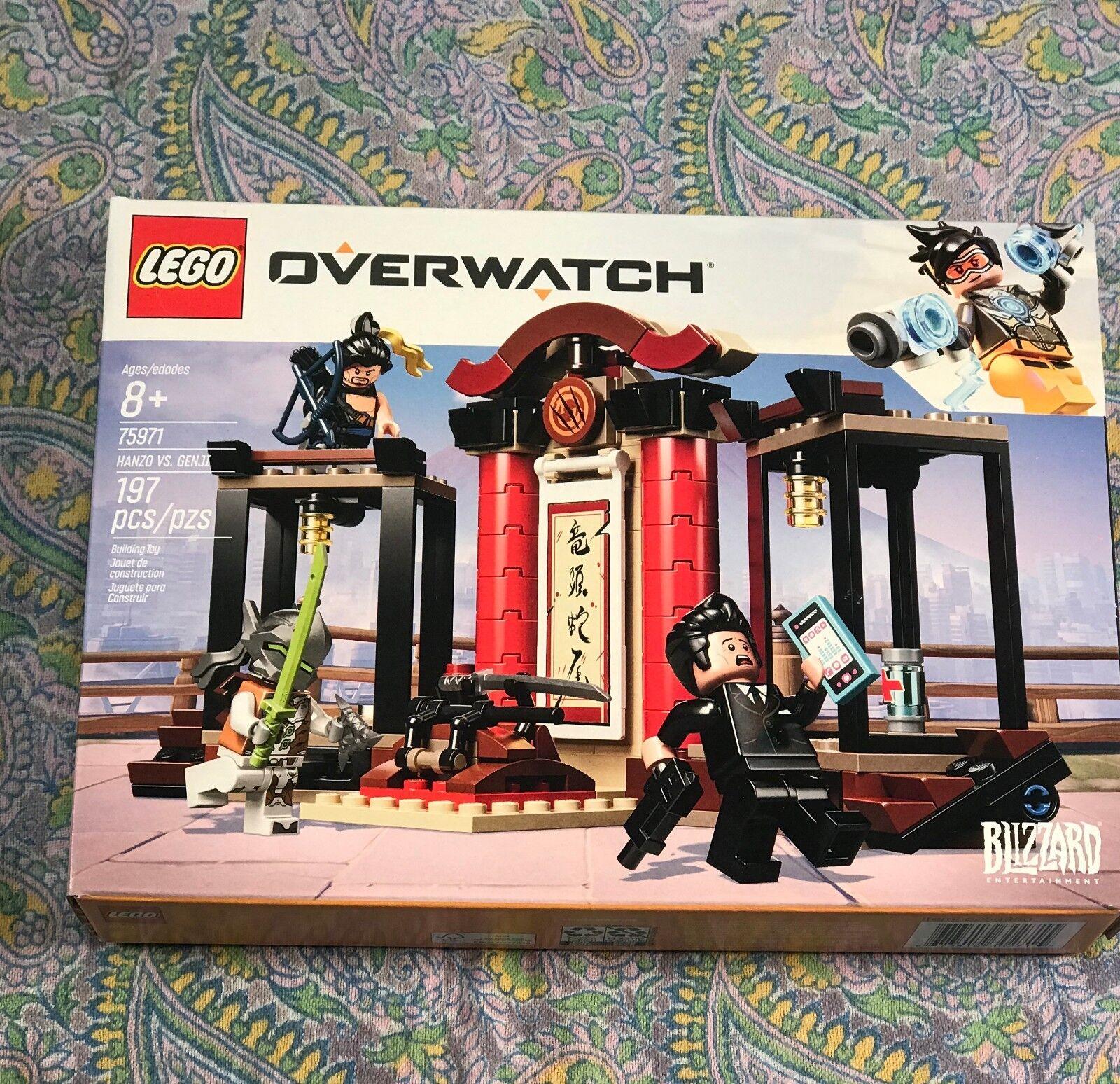NIB  Lego Overwatch 75971 Dragon Bredhers Hanzo vs. Genji Hanamura Dojo