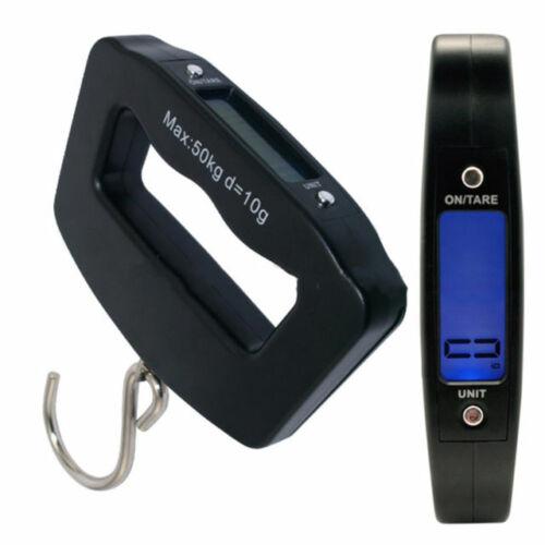 Nouveau 50 kg Numérique Voyage Portable Handheld Luggage Weighing E-Balances Valise Sac