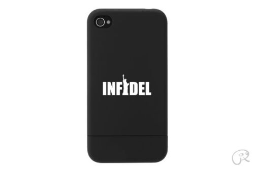 Infidel Sticker Die Cut Decal for cell phone mobile liberty 2x