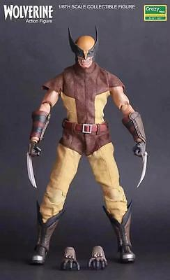 """MARVEL X-MEN WOLVERINE CRAZY TOY 12"""" ACTION FIGURE COLLECTIBLE STATUE NEW NO BOX"""