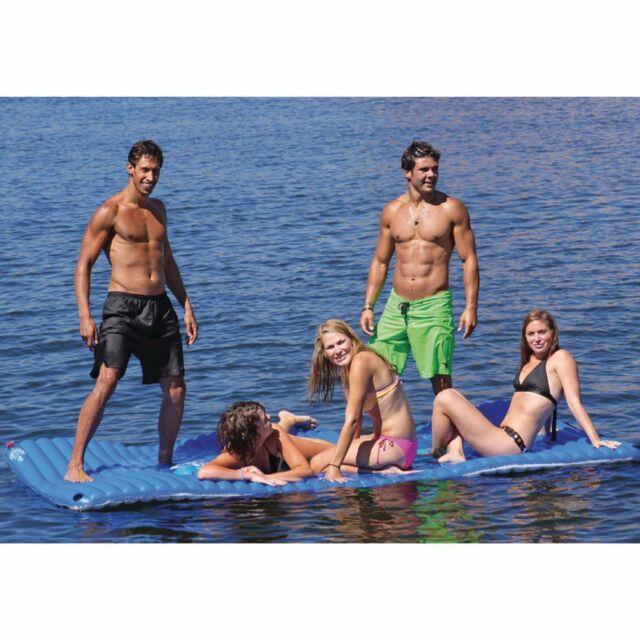 Yamaha Gang Plank Inflatable Mat Reversible Blue//White SBT-YGP60-00-13 Airhead