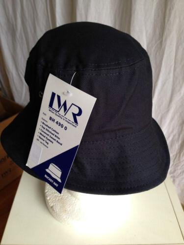 BNWT Boys or Girls Navy Blue LW Reid Sz M 57cm School Uniform Bucket Hat UPF 50+