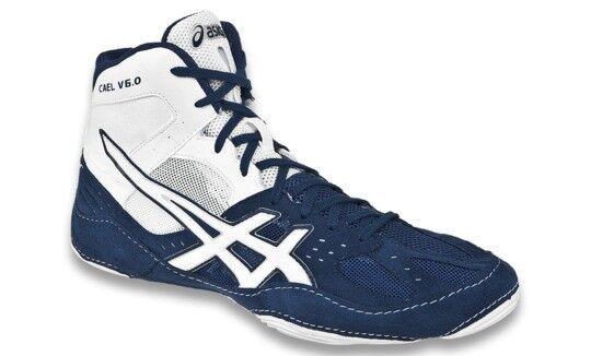 ASICS JAPAN Wrestling Boxing shoes SS Model Cael V6.0 TWR332 Navy White