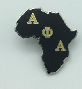 Africa Lapel Pin Alpha Phi Alpha
