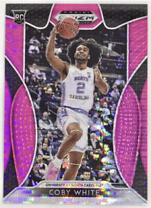 2019-20 Panini Coby White Pink Pulsar Prizm Rookie Card RC Chicago Bulls 🔥📈
