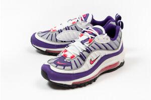 Damen-Nike-Air-Max-98-Raptoren-UK-5-5-us-8-eur-39-weiss-lila-ah6799-110