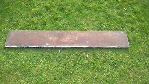 solid antique slate shelf mantelpiece.. stock item 0010