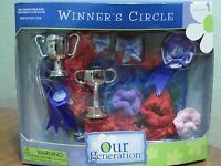 Our Generation Winner's Circle 18 Doll Accessories Fits 20 Doll Horse