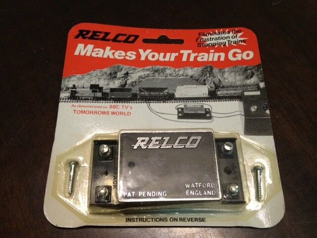 Relco makes your train go. Vintage
