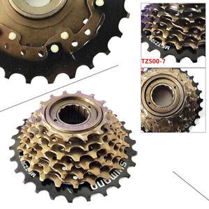 MTB Bike MF-TZ500-7 Threaded Freewheel 7 Speed Screw-On 14-28T Freewheel