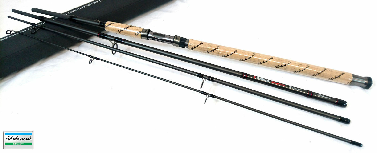 Shakespeare Sigma SUPRA Rod SPIN 9ft 12-30g