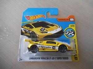 Hotwheels-10-10-Lamborghini-Huracan-LP620-2-Super-Trofeo-Unopened