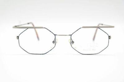 Disciplinato Vintage Off Line By Romolo Cianci 401 34 [] 17 140 Blu Argento Ovale Occhiali Nos-mostra Il Titolo Originale
