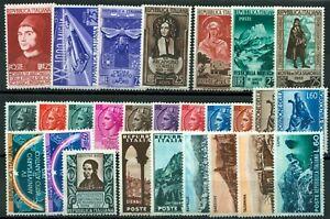 Repubblica-1953-annata-completa-di-Posta-Ordinaria-nuova-MNH