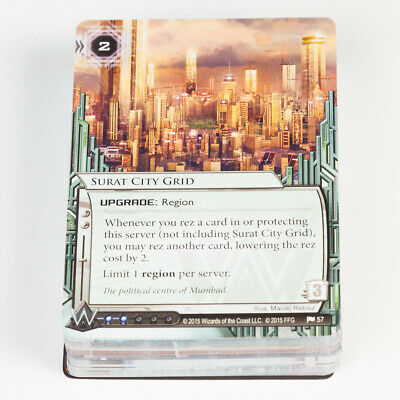 Netrunner Card Game Data Pack Democracy /& Dogma NEW SEALED Mumbad Cycle Android