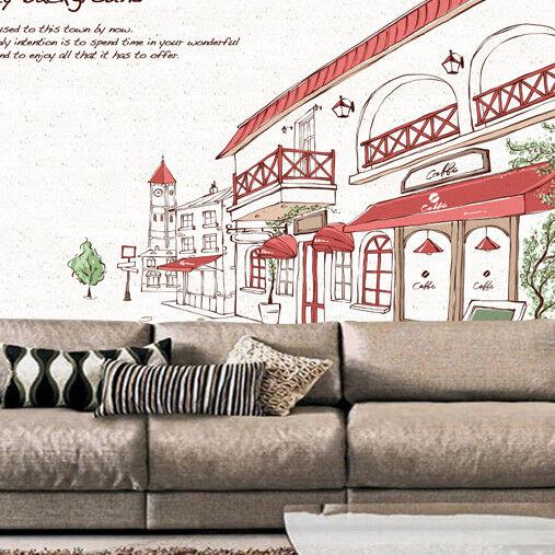 3D Stadtstraße Gebäude 843 Tapete Wandgemälde Tapete Tapeten Bild Familie DE  | Gutes Design  | Adoptieren  | München