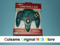 Nintendo 64 N64 (clear-turquoise) Controller With A 30 Day Guarantee