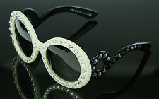 954a4baafbd1 item 8 RARE NEW Genuine PRADA Ornate Ivory Black Baroque Crystal Sunglasses  SPR 31P PR -RARE NEW Genuine PRADA Ornate Ivory Black Baroque Crystal  Sunglasses ...