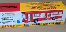 Dinky 283 Single Decker Bus Empty Repro Box Only