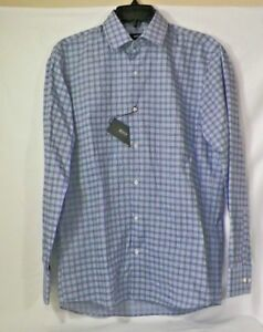 HUGO-BOSS-ENZO-US-BLACK-LABEL-DRESS-SHIRT-REGULAR-FIT-BLUE-SZ-15-32-33-NWT
