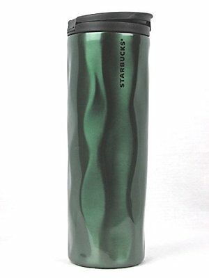 Starbucks Summer 2020 Blue//Green 24oz Stainless Steel Tumbler CHROME Cup HTF