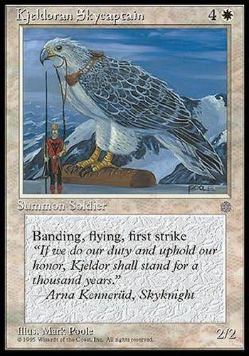 ▼▲▼2x Kjeldoran Skycaptain Capitaine céleste Kjeldor Ice Age  #39 ENGLISH MTG