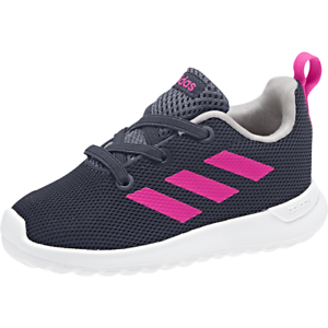 reputable site b8a6e ef468 Image is loading Adidas-Infants-Girls-Shoes-Kids-Lite-Racer-CLN-