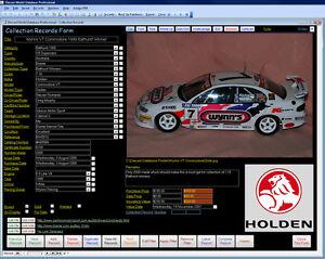 Diecast Image Database Software suit Biante Trax + Windows 7/8/10 XP Vista