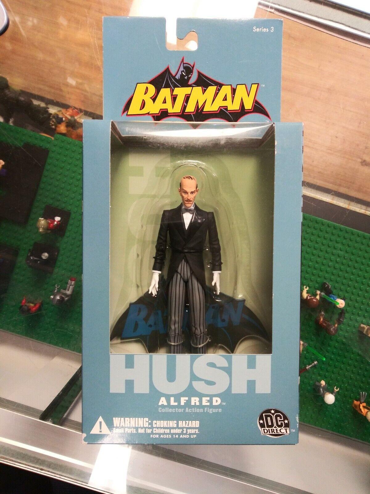 2004 DC Direct Batman Hush ALFRED Series 3 Action Figure MOC