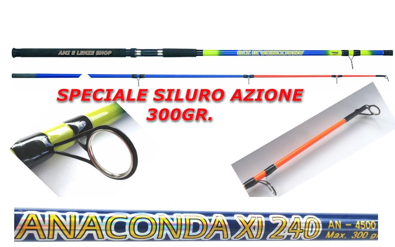 Canna siluro carpa anaconda carson mt 2,40 200300GR. canna bolentino storione