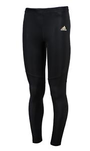 entrar Viaje Admisión  Adidas Hombres Respuesta Largo Mallas Pantalones De Entrenamiento Climacool  Negro Gimnasio Pantalón BQ3547 | eBay