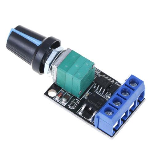 stufenloser Drehzahlregler/_wp 5V 12V 10A PWM DC-Motordrehzahlregler