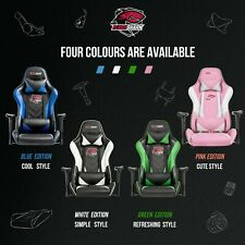 Ergonomic Computer Gaming Chair Racing Style Recliner Swivel Office Chair