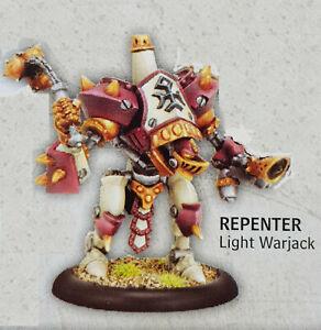 Responsable Warmachine Protectorate Of Menoth Repenter Light Warjack * Plastique *-afficher Le Titre D'origine Pour RéDuire Le Poids Corporel Et Prolonger La Vie