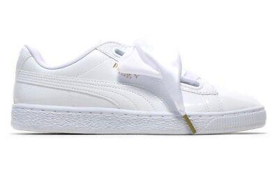puma blanche vernis femme