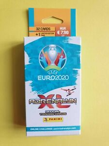 Panini Adrenalyn XL euro em 2020-5 x fatpack con Limited Edition-nuevo embalaje original /&