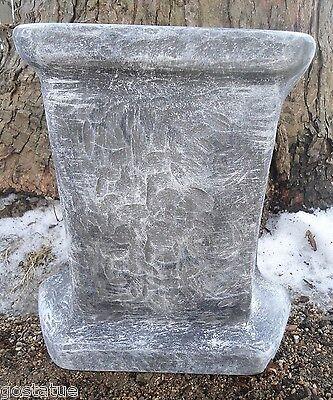 "MOLD distressed bench leg concrete mold 1/8th"" plastic mould"