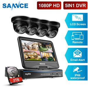 SANNCE-4CH-DVR-with-Monitor-1080P-3000TVL-Security-Camera-System-Outdoor-2TB-HDD